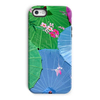 Color Full Umbrellas Phone Case Iphone 5/5S / Tough Gloss & Tablet Cases