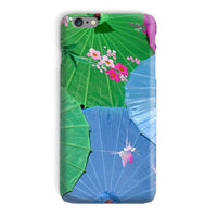 Color Full Umbrellas Phone Case Iphone 6 Plus / Snap Gloss & Tablet Cases