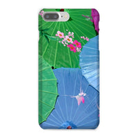Color Full Umbrellas Phone Case Iphone 8 Plus / Snap Gloss & Tablet Cases
