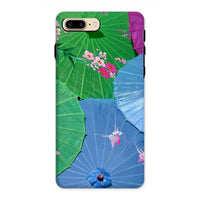Color Full Umbrellas Phone Case Iphone 8 Plus / Tough Gloss & Tablet Cases