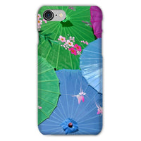Color Full Umbrellas Phone Case Iphone 8 / Snap Gloss & Tablet Cases