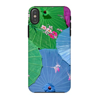 Color Full Umbrellas Phone Case Iphone X / Tough Gloss & Tablet Cases