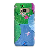 Color Full Umbrellas Phone Case Samsung S8 / Snap Gloss & Tablet Cases