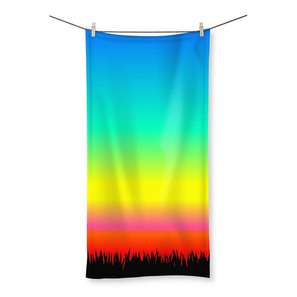 Color Pattern With The Night Beach Towel 19.7X39.4 Homeware