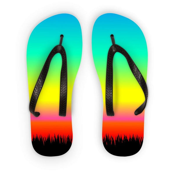 Color Pattern With The Night Flip Flops S Accessories