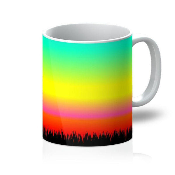 Color Pattern With The Night Mug 11Oz Homeware