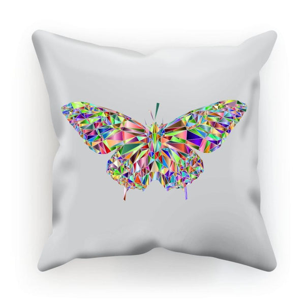 Colorful Crystal Butterfly Cushion Linen / 12X12 Homeware