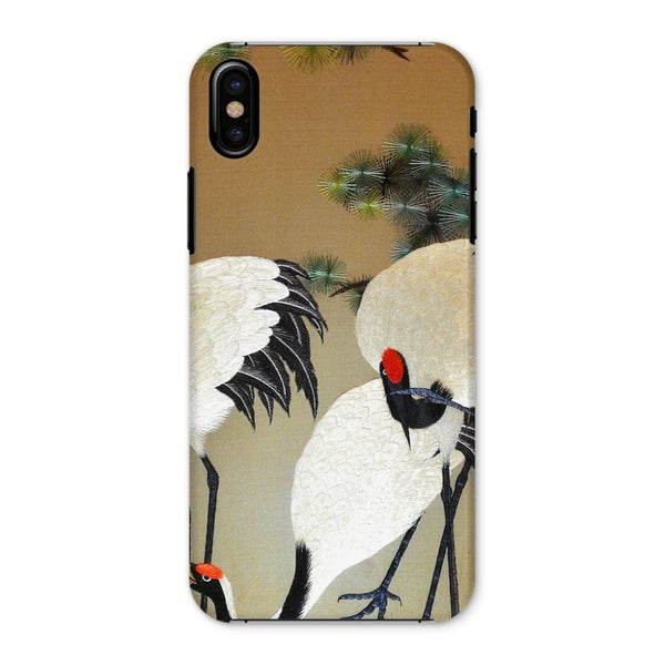 Colorful Painting Of Egrets Phone Case Iphone X / Snap Gloss & Tablet Cases