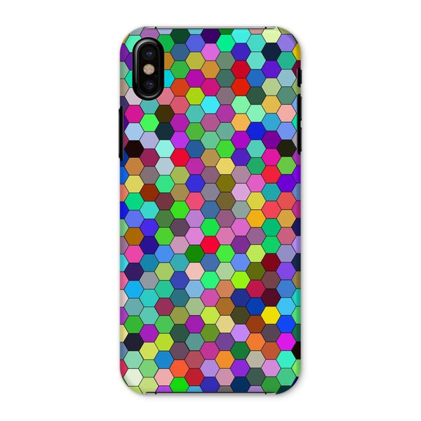 Colorful Pentagon Shape Phone Case Iphone X / Snap Gloss & Tablet Cases