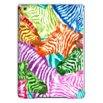Colorful Zebras In Africa Tablet Case Ipad Air Phone & Cases