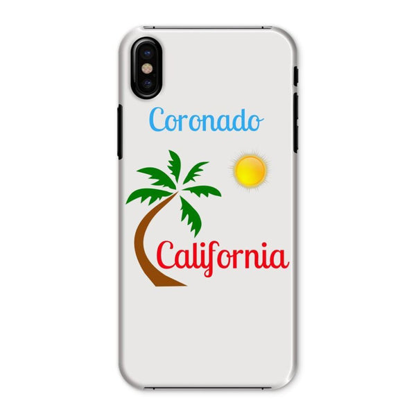 Coronado California Phone Case Iphone X / Snap Gloss & Tablet Cases