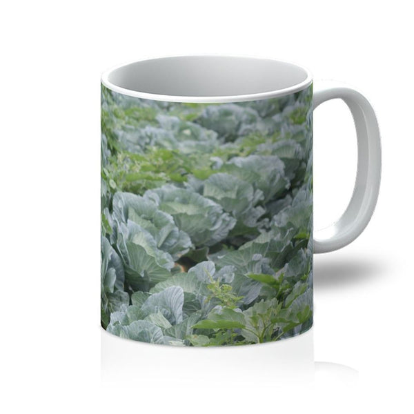 Crops Of Cabbage Mug 11Oz Homeware