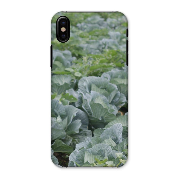 Crops Of Cabbage Phone Case Iphone X / Snap Gloss & Tablet Cases