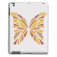 Crystal Orange Butterfly Tablet Case Ipad 2 3 4 Phone & Cases
