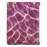Crystal Water Over Pink Sand Tablet Case Ipad 2 3 4 Phone & Cases