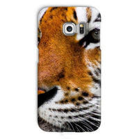 Cute Close-Up Picture Tiger Phone Case Galaxy S6 Edge / Snap Gloss & Tablet Cases