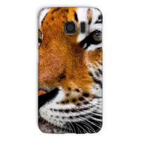 Cute Close-Up Picture Tiger Phone Case Galaxy S6 / Snap Gloss & Tablet Cases