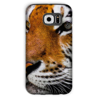 Cute Close-Up Picture Tiger Phone Case Galaxy S6 / Tough Gloss & Tablet Cases