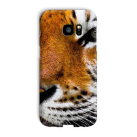 Cute Close-Up Picture Tiger Phone Case Galaxy S7 Edge / Snap Gloss & Tablet Cases