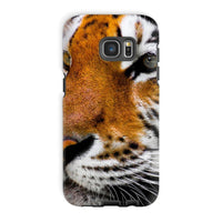 Cute Close-Up Picture Tiger Phone Case Galaxy S7 Edge / Tough Gloss & Tablet Cases