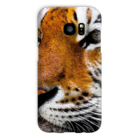 Cute Close-Up Picture Tiger Phone Case Galaxy S7 / Snap Gloss & Tablet Cases