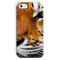 Cute Close-Up Picture Tiger Phone Case Iphone 5/5S / Snap Gloss & Tablet Cases