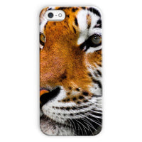 Cute Close-Up Picture Tiger Phone Case Iphone 5C / Snap Gloss & Tablet Cases