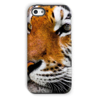 Cute Close-Up Picture Tiger Phone Case Iphone 5C / Tough Gloss & Tablet Cases
