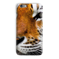 Cute Close-Up Picture Tiger Phone Case Iphone 6 Plus / Snap Gloss & Tablet Cases