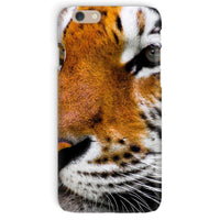 Cute Close-Up Picture Tiger Phone Case Iphone 6 / Snap Gloss & Tablet Cases