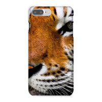 Cute Close-Up Picture Tiger Phone Case Iphone 8 Plus / Snap Gloss & Tablet Cases