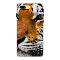 Cute Close-Up Picture Tiger Phone Case Iphone 8 Plus / Tough Gloss & Tablet Cases