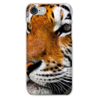 Cute Close-Up Picture Tiger Phone Case Iphone 8 / Snap Gloss & Tablet Cases