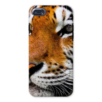 Cute Close-Up Picture Tiger Phone Case Iphone 8 / Tough Gloss & Tablet Cases