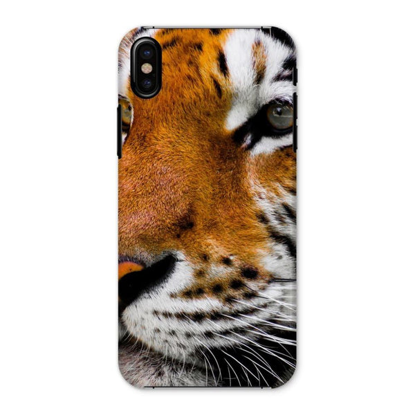 Cute Close-Up Picture Tiger Phone Case Iphone X / Snap Gloss & Tablet Cases