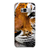 Cute Close-Up Picture Tiger Phone Case Samsung S8 Plus / Snap Gloss & Tablet Cases