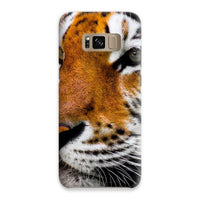 Cute Close-Up Picture Tiger Phone Case Samsung S8 / Snap Gloss & Tablet Cases