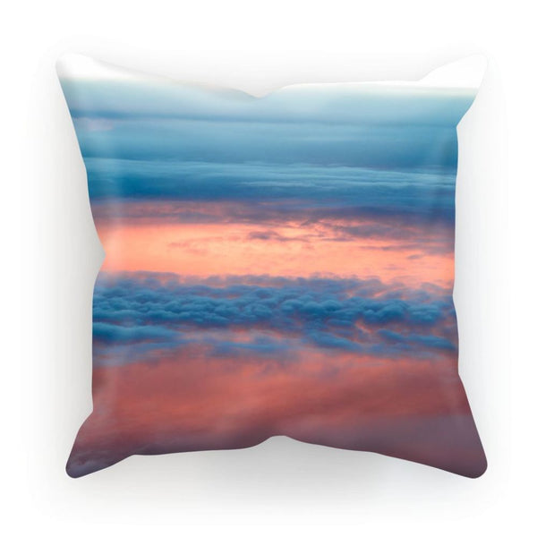 Cyclone In The Clouds Cushion Linen / 12X12 Homeware