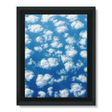 Cyclone In The Clouds Framed Canvas 12X16 Wall Decor