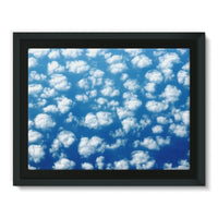 Cyclone In The Clouds Framed Canvas 16X12 Wall Decor