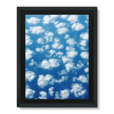 Cyclone In The Clouds Framed Canvas 24X32 Wall Decor