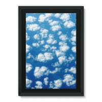 Cyclone In The Clouds Framed Canvas 24X36 Wall Decor