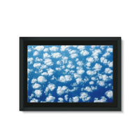 Cyclone In The Clouds Framed Canvas 36X24 Wall Decor