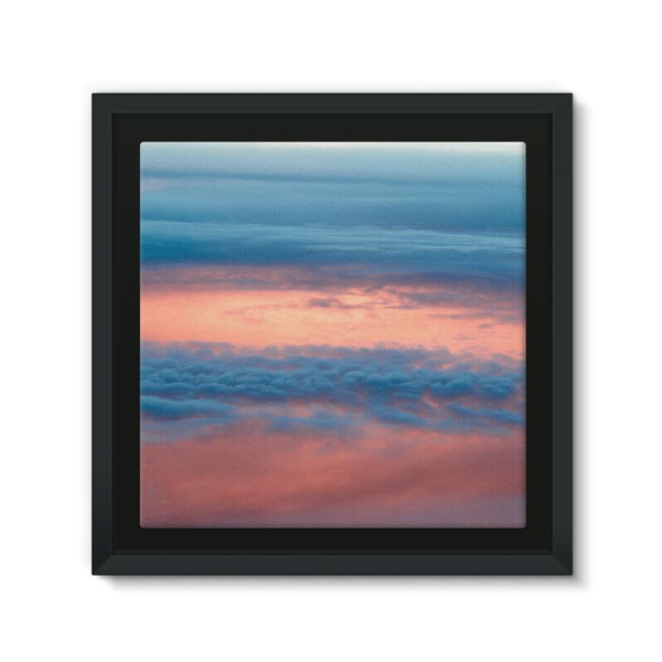 Cyclone In The Clouds Framed Eco-Canvas 10X10 Wall Decor
