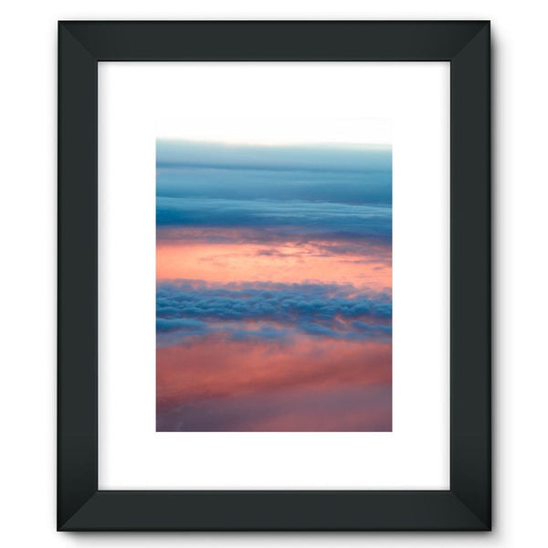 Cyclone In The Clouds Framed Fine Art Print 12X16 / Black Wall Decor