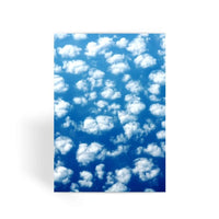 Cyclone In The Clouds Greeting Card 1 Prints