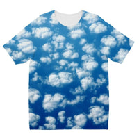 Cyclone In The Clouds Kids Sublimation T-Shirt 3-4 Years Apparel
