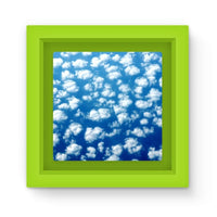 Cyclone In The Clouds Magnet Frame Green Homeware
