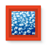 Cyclone In The Clouds Magnet Frame Red Homeware