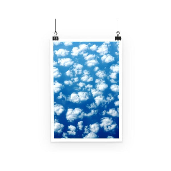 Cyclone In The Clouds Poster A3 Wall Decor
